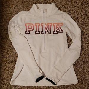 PINK brand half zip jacket